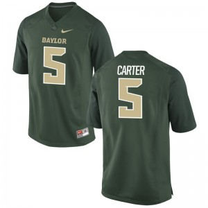 Amari Carter Hurricanes Jersey Green Game Mens