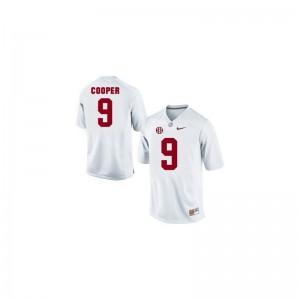 Mens Amari Cooper Jersey White Limited Alabama Crimson Tide Jersey