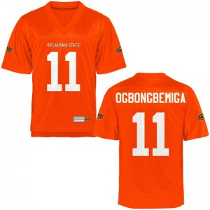 Amen Ogbongbemiga Men Oklahoma State Cowboys Jersey Orange Limited Football Jersey