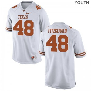Andrew Fitzgerald Longhorns Jersey Limited Youth Jersey - White