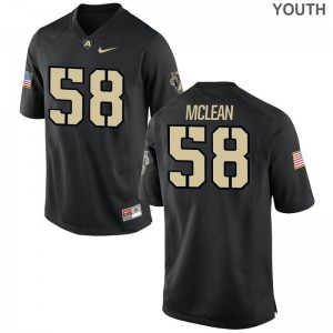 Andrew McLean Jersey Army Black Knights Kids Game - Black