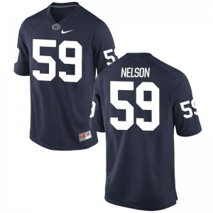 Nittany Lions Andrew Nelson Jersey Mens Game Navy