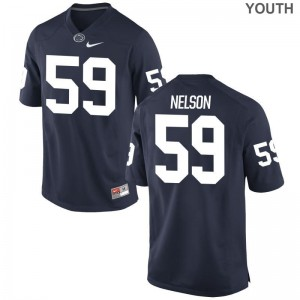 Andrew Nelson Youth Jerseys Navy Penn State Nittany Lions Limited