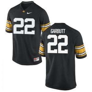 Iowa Angelo Garbutt Jersey Men Game - Black