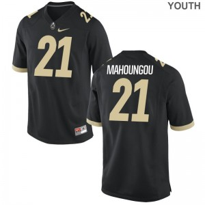 Purdue Game Youth(Kids) Anthony Mahoungou Jerseys - Black