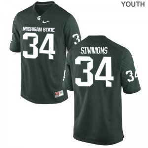 Antjuan Simmons MSU Jersey Game Green Youth