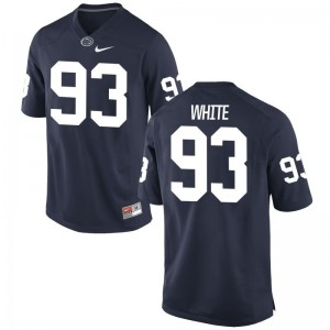 Antoine White Nittany Lions Jersey Limited For Men - Navy