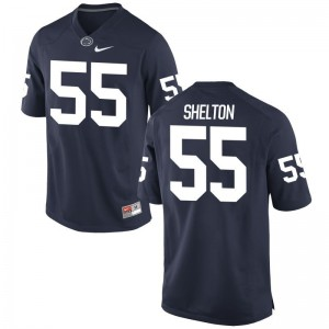Game Mens Penn State Nittany Lions Jerseys Antonio Shelton - Navy