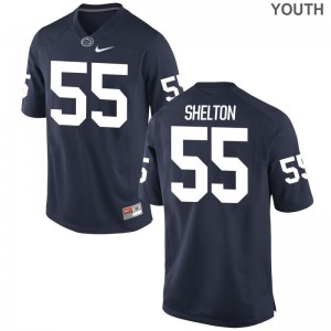 Penn State Limited For Kids Navy Antonio Shelton Jersey