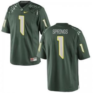 Oregon Arrion Springs Limited Kids Jerseys - Green