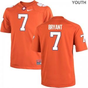 Limited Clemson University Austin Bryant Kids Orange Jerseys