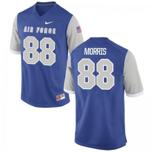 Game USAFA Austin Morris Mens Jerseys - Royal