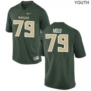 Miami Hurricanes Bar Milo Jerseys Green For Kids Game