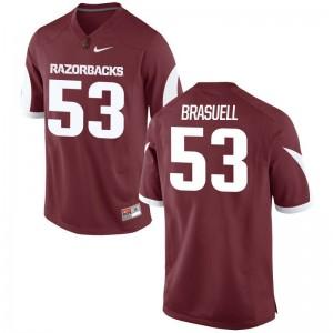 Limited Ben Brasuell Jersey Men Arkansas - Cardinal