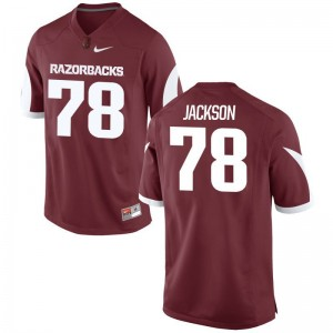 Bijhon Jackson Mens University of Arkansas Jerseys Cardinal Limited Jerseys