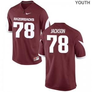 Bijhon Jackson Arkansas Jersey Cardinal Limited For Kids