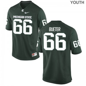 Michigan State University Youth(Kids) Game Green Blake Bueter Jerseys