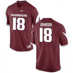 Arkansas Razorbacks Limited Cardinal Mens Blake Johnson Jerseys