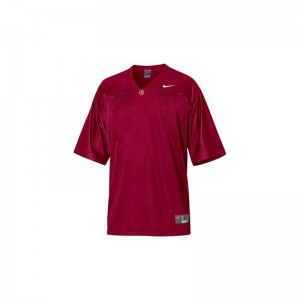 Game Red Blank Jersey Youth(Kids) University of Alabama