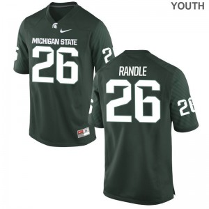 For Kids Brandon Randle Jersey Michigan State Limited Green