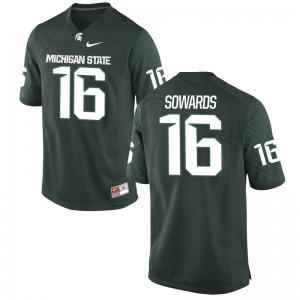 Brandon Sowards Michigan State Spartans Jerseys Game Men Green