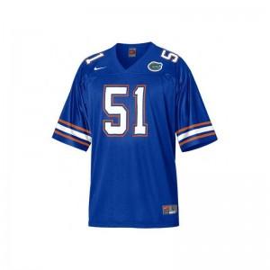 Blue Brandon Spikes Jersey Florida For Men Limited