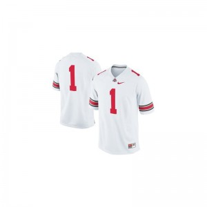 Ohio State Braxton Miller Game For Kids College Jersey - White