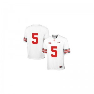 Braxton Miller Kids Jersey Ohio State Limited - White Diamond Quest Patch