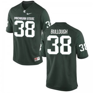 Green Byron Bullough Jersey Michigan State Spartans For Men Game