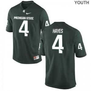 MSU Green For Kids Game C.J. Hayes Jerseys