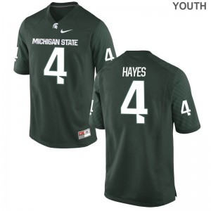 C.J. Hayes Youth Jersey Green Limited Michigan State