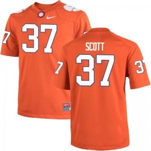 Cameron Scott Men Jersey Limited Orange Clemson University