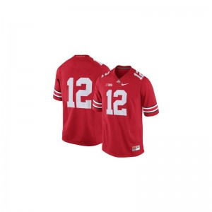 Red Game Cardale Jones Jersey For Kids OSU