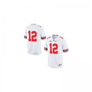For Kids Cardale Jones Jersey Official White Game OSU Jersey
