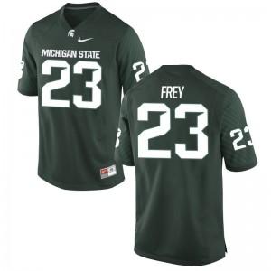 MSU Mens Green Game Chris Frey Jersey