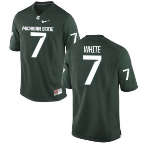 Michigan State University Game Mens Green Cody White Jersey