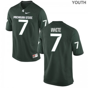 Cody White Michigan State Spartans Jersey Game Kids - Green