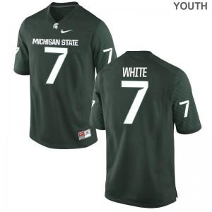 Michigan State Limited Youth(Kids) Green Cody White Jersey