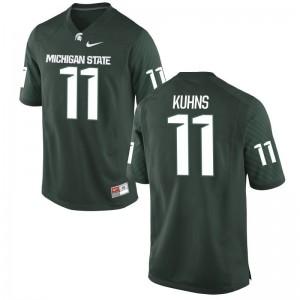 Spartans Colar Kuhns Jersey Men Game - Green
