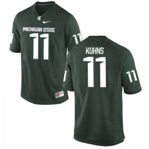 Michigan State Colar Kuhns Game For Kids Jerseys - Green
