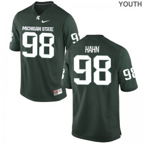 Youth(Kids) Limited Spartans Jerseys Cole Hahn Green Jerseys