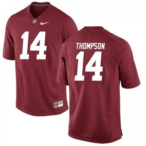 Deionte Thompson Bama Jersey Red For Men Game