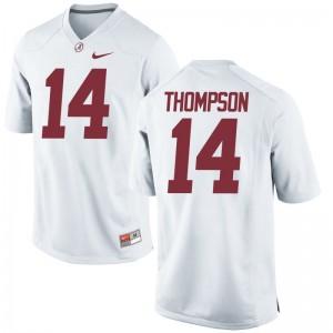 Deionte Thompson Alabama Crimson Tide Jerseys Men Game - White