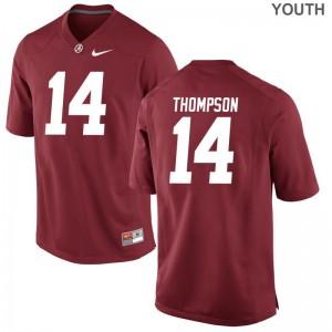 Red Deionte Thompson Jerseys University of Alabama Game Kids
