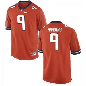 Limited Men University of Illinois Jerseys of Dele Harding - Orange