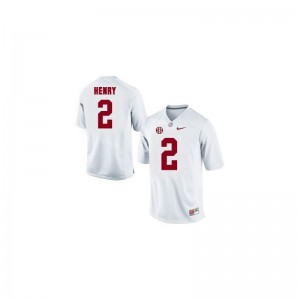Derrick Henry Youth(Kids) Jerseys Limited Alabama Crimson Tide - White