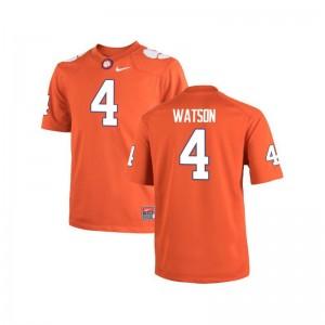 Clemson National Championship Deshaun Watson Mens Limited Jerseys Orange