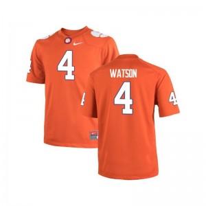 Clemson Tigers Deshaun Watson Jersey Game Kids Jersey - Orange