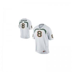 Duke Johnson Hurricanes Men Limited Jersey - White