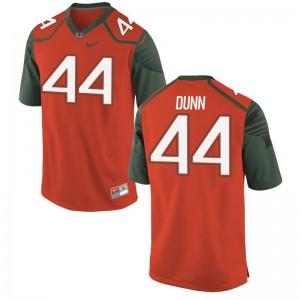 Miami Eddie Dunn Limited Jerseys Orange Mens